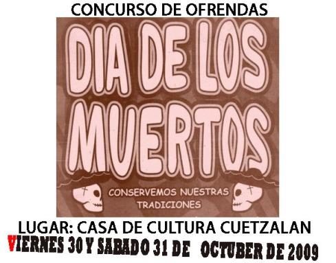 DIA DE MUERTOS CUETZALAN